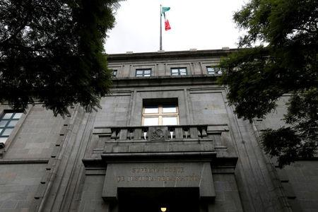 FILE PHOTO: A view of The Mexican Supreme Court in Mexico City