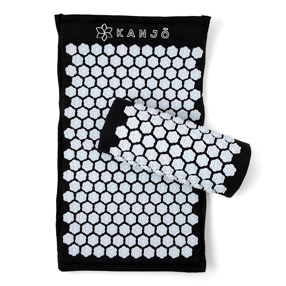 <p>For all the men that complain about body aches, this <span>Memory Foam Acupressure Mat & Pillow Set</span> ($80) is the solution.</p>