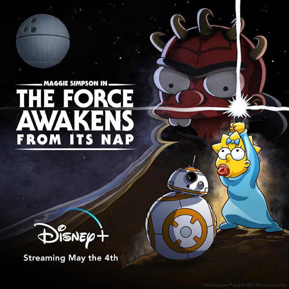 Simpsons' The Force Awakens From Its Nap on Disney Plus
