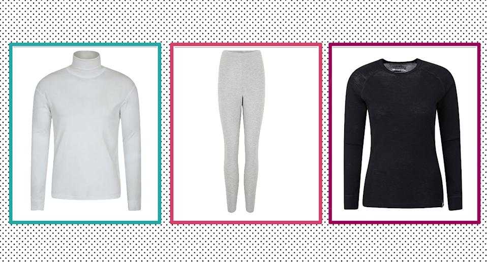 Thermals are a huge wardrobe staple come the winter, we have found the best buys for men and winter.  (Yahoo Style UK)