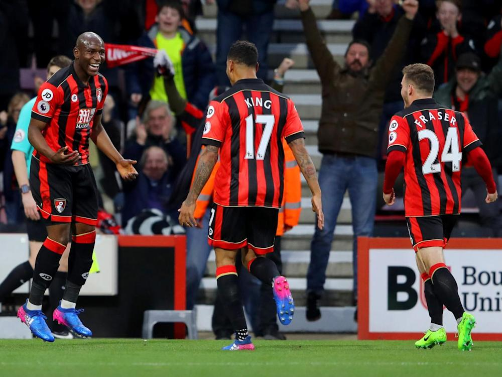 Bournemouth took the lead through a first-half own goal (Getty)