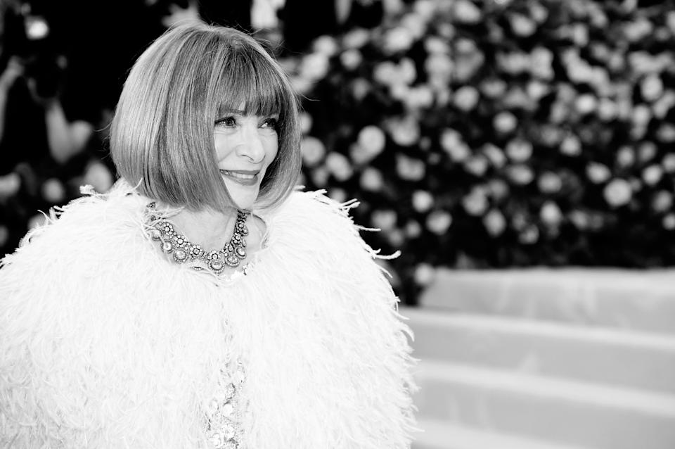 Anna Wintour Met Gala 201Getty Images