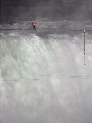 Discovery to Air Grand Canyon Tightrope Crossing Live