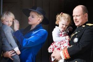 The royal family appears for Monaco National Day celebrations