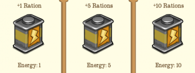 Rations for sale