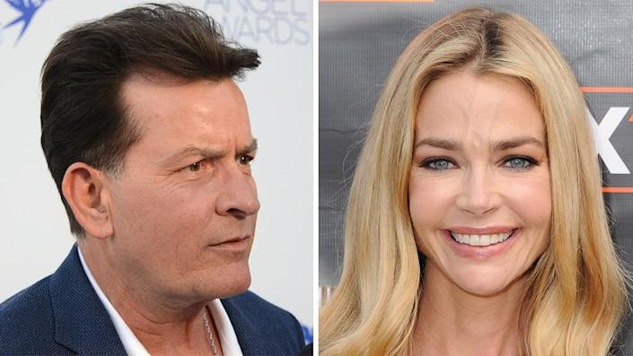 """Charlie Sheen addressed whether or not he'll appear on 'The Real Housewives of Beverly Hills' with ex-wife Denise Richards. <span class=""""copyright"""">Getty Images</span>"""
