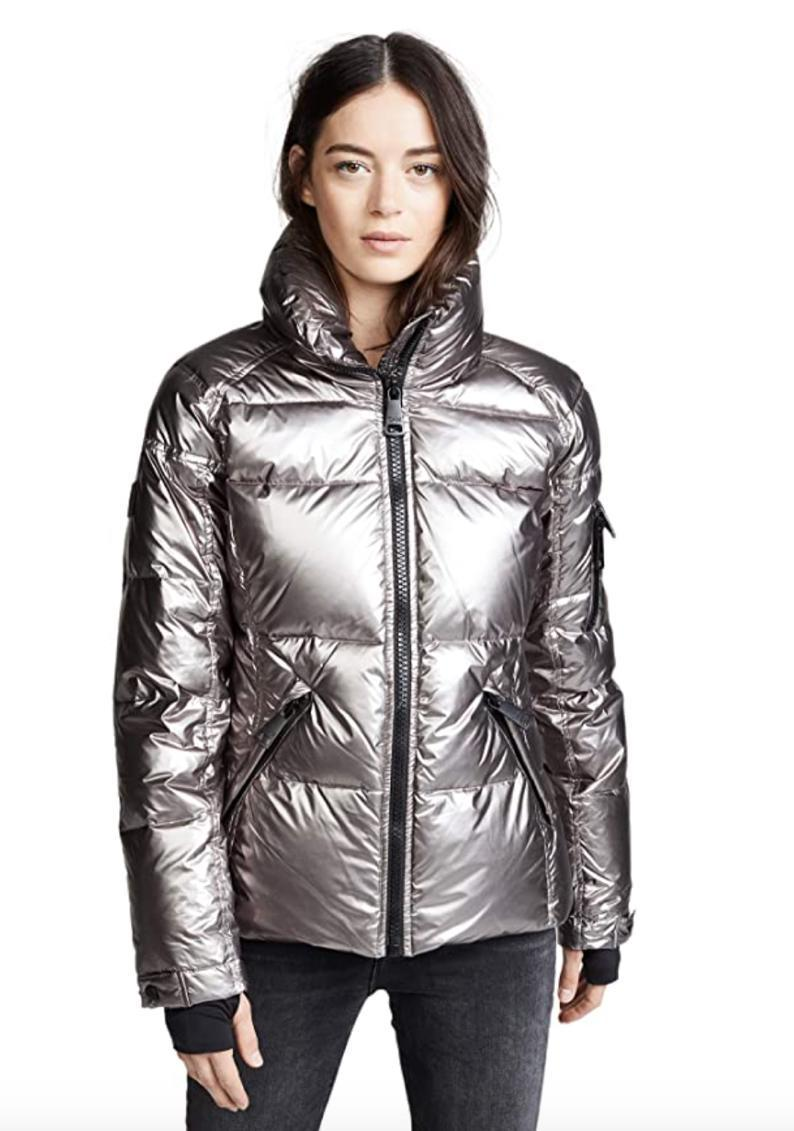 """About ready to migrate to Mars with the current news cycle? Go E.T. with this shiny gunmetal puffer (also available in pale blue, black, and red, if you're feeling more like an earthling). $350, Amazon. <a href=""""https://www.amazon.com/SAM-Womens-Freestyle-Shaped-Gunmetal/dp/B07C83YP52"""" rel=""""nofollow noopener"""" target=""""_blank"""" data-ylk=""""slk:Get it now!"""" class=""""link rapid-noclick-resp"""">Get it now!</a>"""