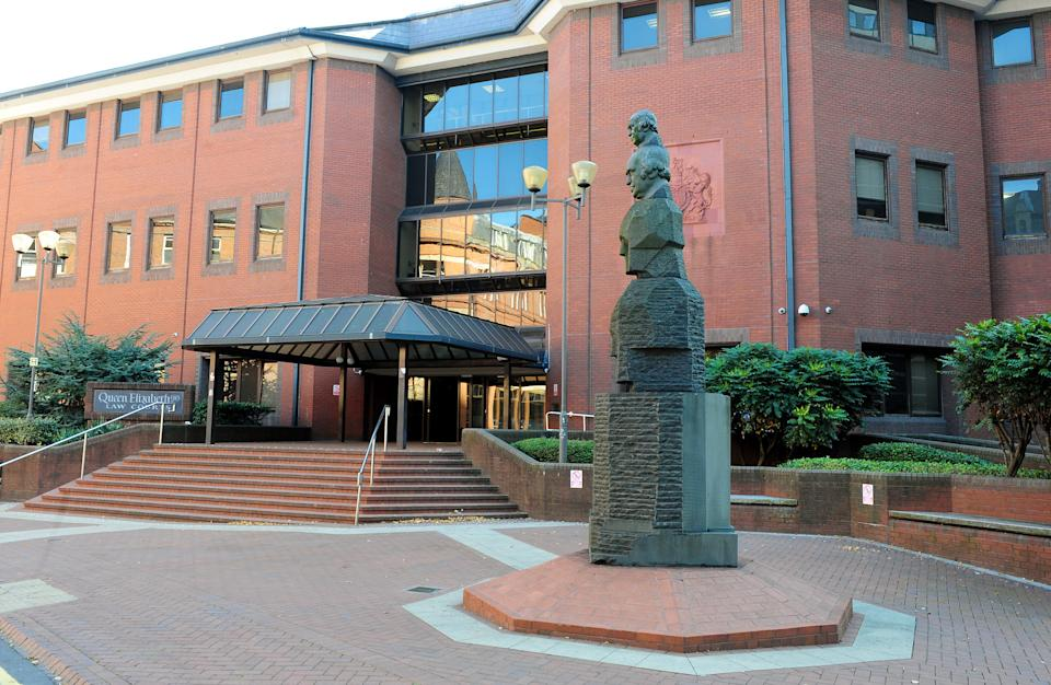 A general view of Birmingham Crown Court in Birmingham.   (Photo by Rui Vieira/PA Images via Getty Images)
