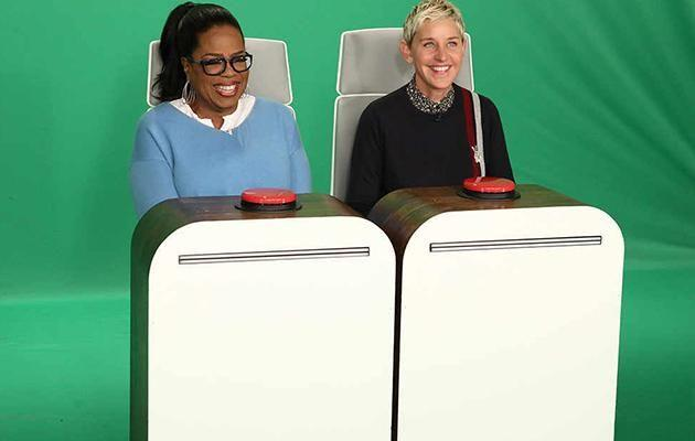 Oprah revealed she went to the bank to deposit a $2 million check. Source: Michael Rozman/Warner Bros