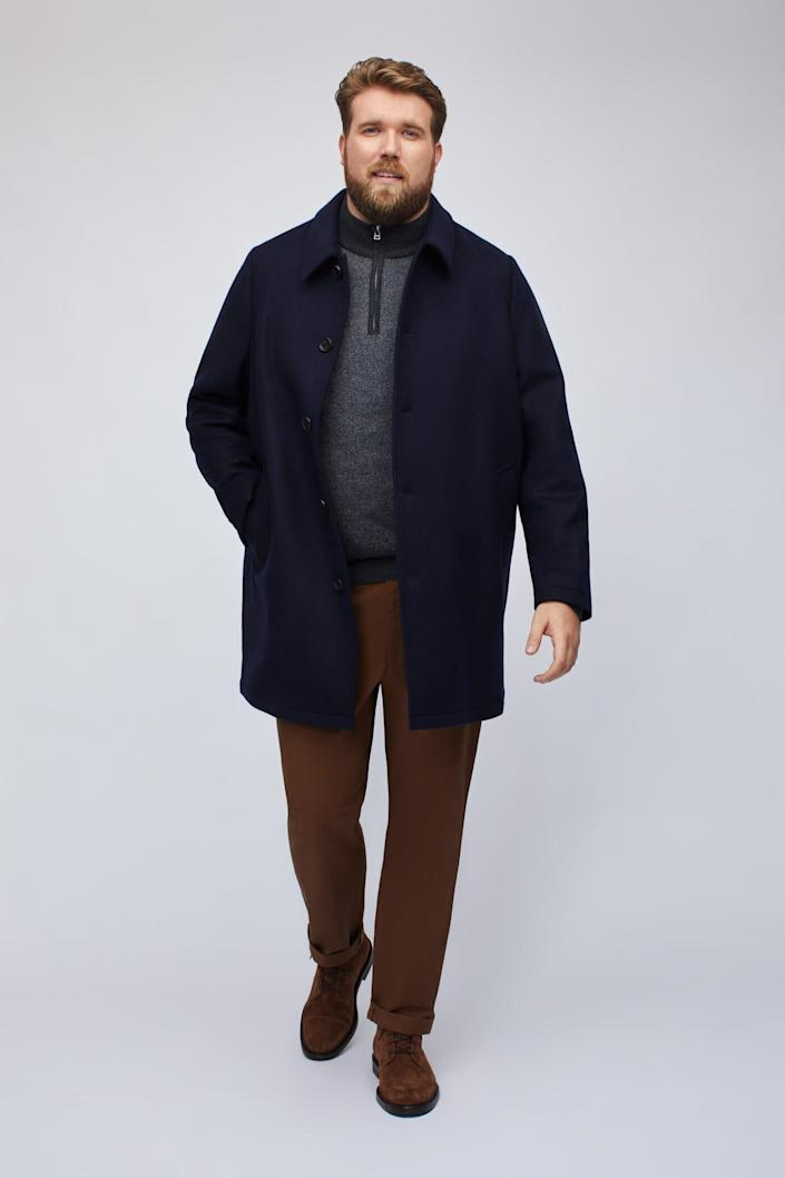 """This jacket comes in sizes 2XL to 4XL. <a href=""""https://fave.co/2TysJiT"""" rel=""""nofollow noopener"""" target=""""_blank"""" data-ylk=""""slk:Find it at Bonobos"""" class=""""link rapid-noclick-resp""""><strong>Find it at Bonobos</strong></a>."""