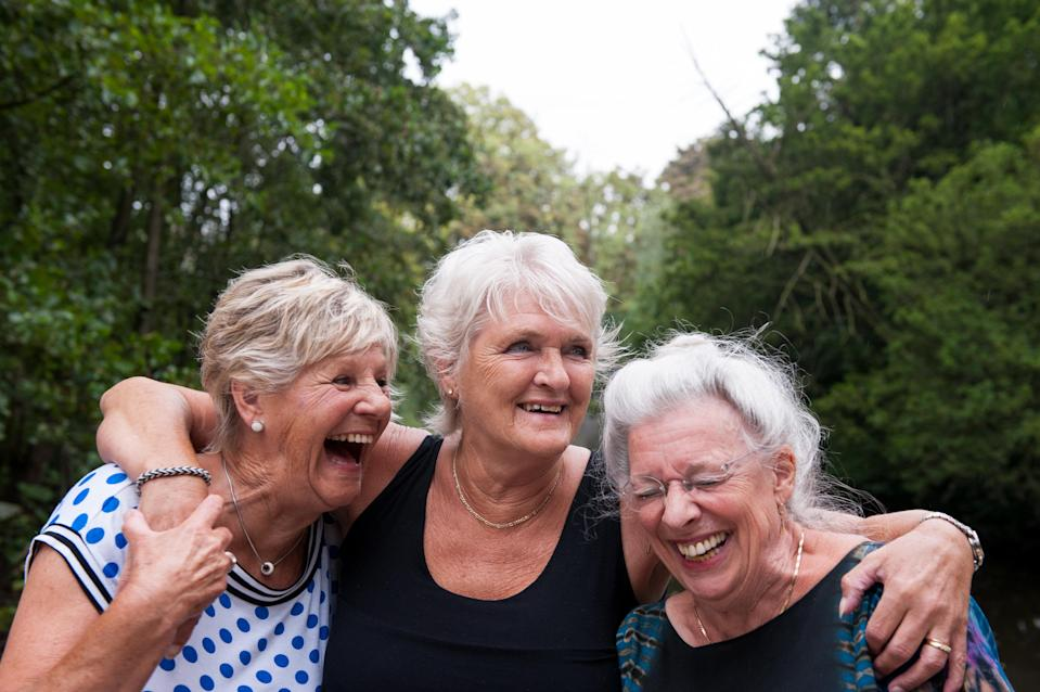 The lasting importance of friendship. (Photo: Getty Images)