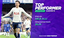 <p>Deli Alli has now been directly involved in four of Spurs' last seven goals in the last two games. But he has scored three from only three shots on target. </p>