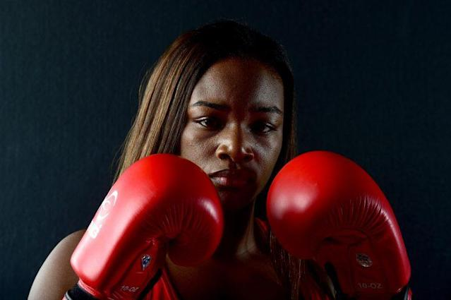 Claressa Shields overcame a brutal childhood and now advocates for many social causes. (Getty Images)