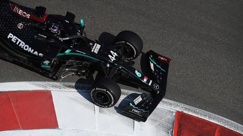 Lewis Hamilton clocks second slowest time in Russian Grand Prix opening practice