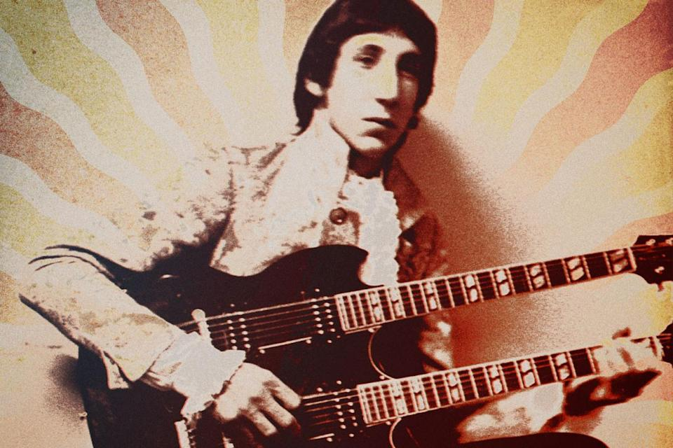 Pete Townshend with Double-Nck SC
