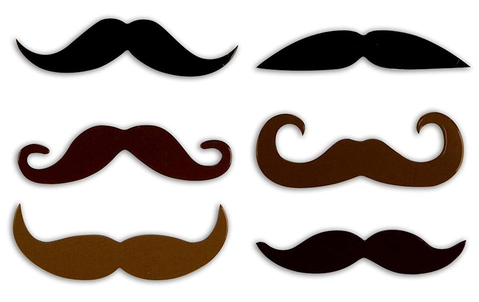 <p>These <span>Kikkerland Mustache Magnets</span> ($7) will make anyone smile. </p>