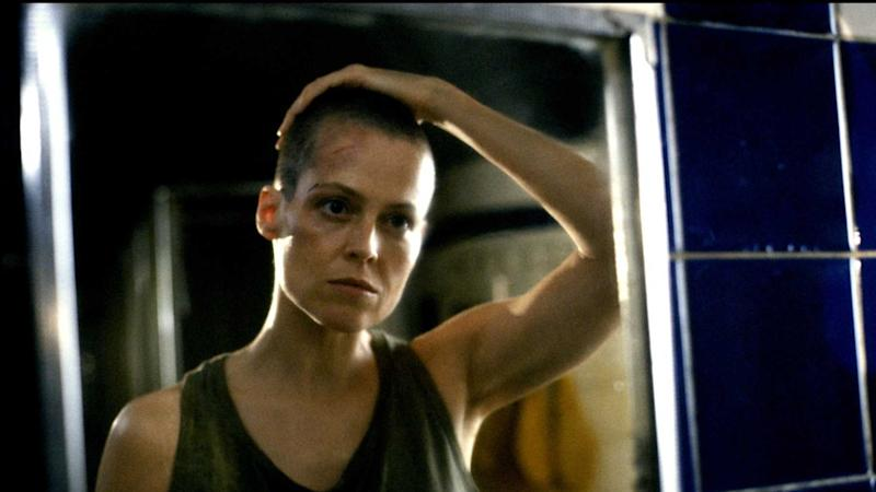 Sigourney Weaver in 'Alien 3'. (Credit: Fox)