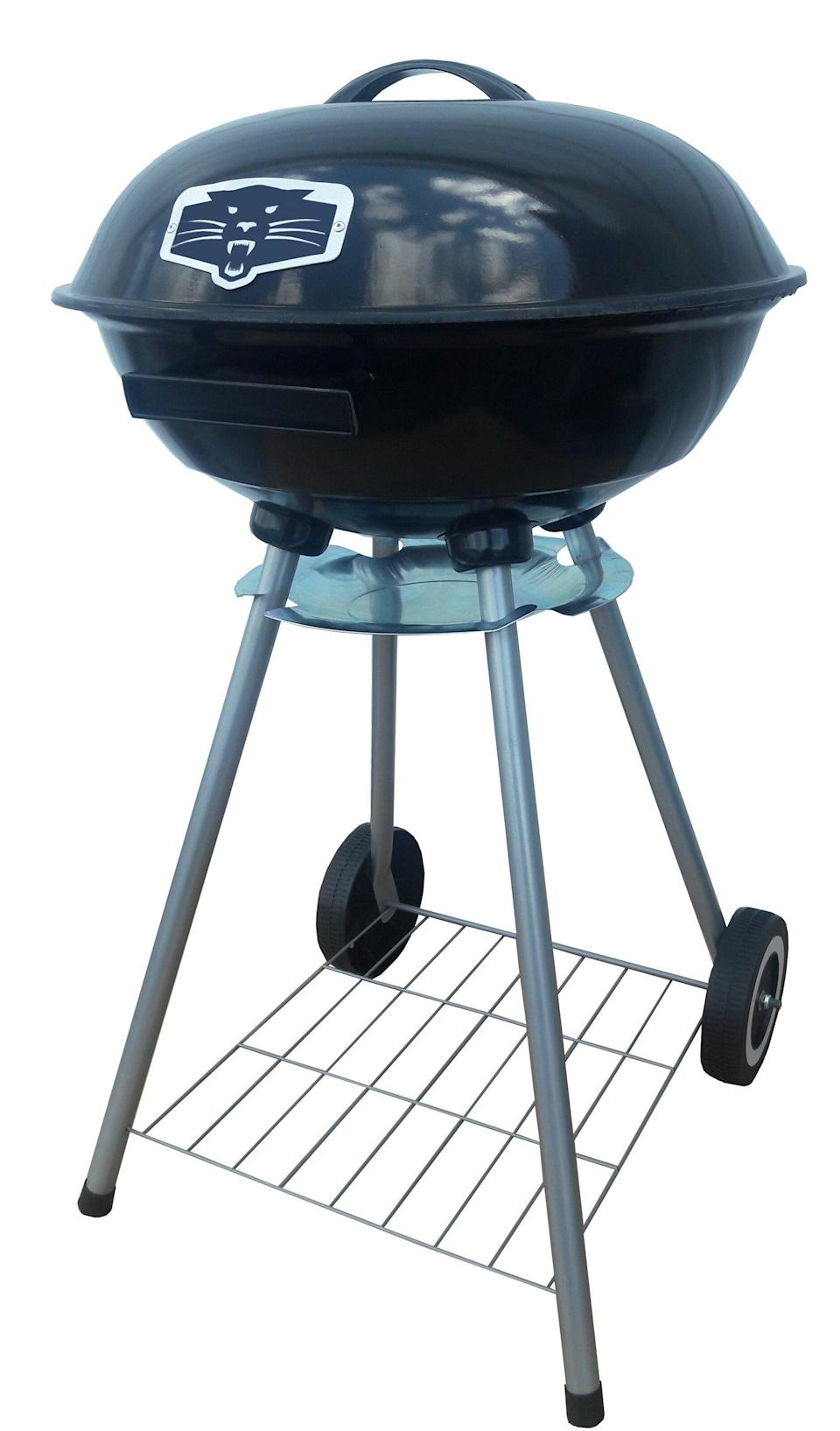 """<h2>Best Grill Under $50</h2><br><h3>PantherGrill 19"""" Kettle Charcoal Grill</h3><br><strong>The Hype</strong>: 4.3 out of 5 stars and 105 reviews on <a href=""""https://www.wayfair.com/outdoor/pdp/panthergrill-19-kettle-charcoal-grill-ptrg1000.html"""" rel=""""nofollow noopener"""" target=""""_blank"""" data-ylk=""""slk:Wayfair"""" class=""""link rapid-noclick-resp"""">Wayfair</a><br><br><strong>BBQ Buffs Say:</strong> """"Great grill for such a cheap price. I haven't used it much because charcoal is so inconvenient, but for $25 it works great and it will get those steaks cooked.""""<br><br><strong>PantherGrill</strong> 19"""" Kettle Charcoal Grill, $, available at <a href=""""https://go.skimresources.com/?id=30283X879131&url=https%3A%2F%2Fwww.wayfair.com%2Foutdoor%2Fpdp%2Fpanthergrill-19-kettle-charcoal-grill-ptrg1000.html"""" rel=""""nofollow noopener"""" target=""""_blank"""" data-ylk=""""slk:Wayfair"""" class=""""link rapid-noclick-resp"""">Wayfair</a>"""