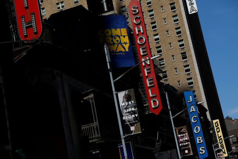 Broadway theaters to remain closed through early January 2021