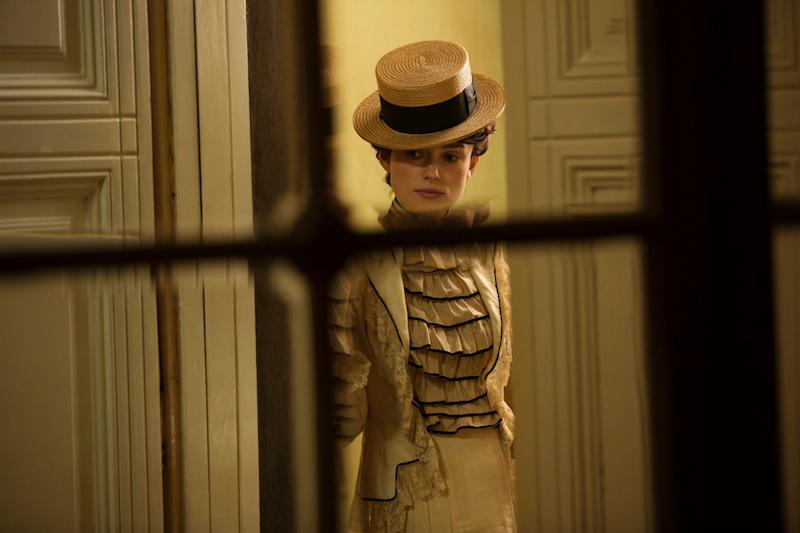 """This movie could not come at a better time. Touching on&nbsp;many themes presented in the Time's Up movement, Wash Westmoreland's """"Colette"""" highlights the story of the famed 1900s French novelist (Keira Knightley) during the period when her husband, Willy (played by a delightfully villainous Dominic West), claimed ownership over her masterful """"Claudine"""" books.&nbsp;<br /><br />As Colette comes to terms with her own identity --&nbsp;professionally and sexually -- her marriage begins to crack, leading her to discover&nbsp;her own unique&nbsp;path to success and happiness. With&nbsp;delectable costumes and scenic sets, """"Colette"""" transports you to a time when women's voices were&nbsp;unfortunately lost but&nbsp;eagerly waiting to be found. -- <i>LB</i>"""