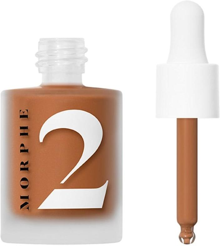 <p>If you have a sunscreen with a horrendous white cast, a few drops of <span>Morphe 2 Hint Hint Skin Tint</span> ($17) can make it all better!</p>