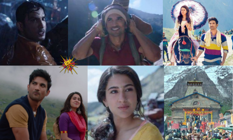 Kedarnath Movie Review : Despite Having Solid Actors, Magical Music And A Brilliant Plot, Kedarnath Is A Passable Film