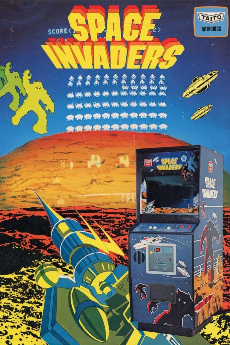"<p>Designed by Tomohiro Nishikado (who also made Gun Fight), <em>Space Invaders</em>drew inspiration from <em>Star Wars</em> and <em>Breakout</em> to create an endearing arcade classic. The game is simple—destroy all alien ships before they destroy you. It's mega-popularity helped solidify the games industry and was the inspiration behind many arcade classics to come.</p><p><a class=""link rapid-noclick-resp"" href=""https://www.amazon.com/Tiny-Arcade-Space-Invaders-Miniature/dp/B06Y4DR4HP/?tag=syn-yahoo-20&ascsubtag=%5Bartid%7C10054.g.2871%5Bsrc%7Cyahoo-us"" rel=""nofollow noopener"" target=""_blank"" data-ylk=""slk:PLAY NOW"">PLAY NOW</a></p>"