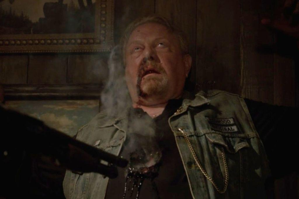 <p>Six seasons with biker gang SAMCRO gave us an almost unrelenting stream of violence… but poor Otto (played by series creator Kurt Sutter) got it the worst, being raped, beaten and blinded. He even bit off his own tongue!<span></span></p>