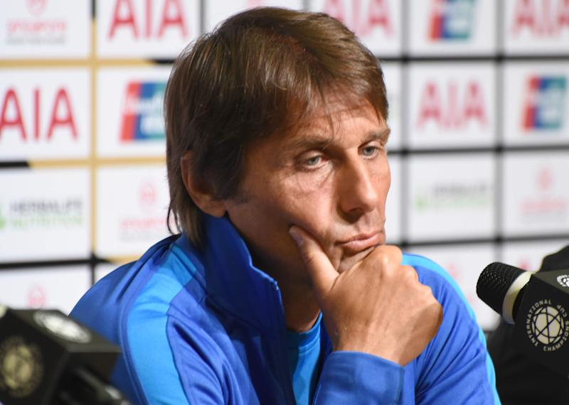 Inter Milan manager Antonio Conte during his club's official media conference at the International Champions Cup. (PHOTO: Zainal Yahya/Yahoo News Singapore)