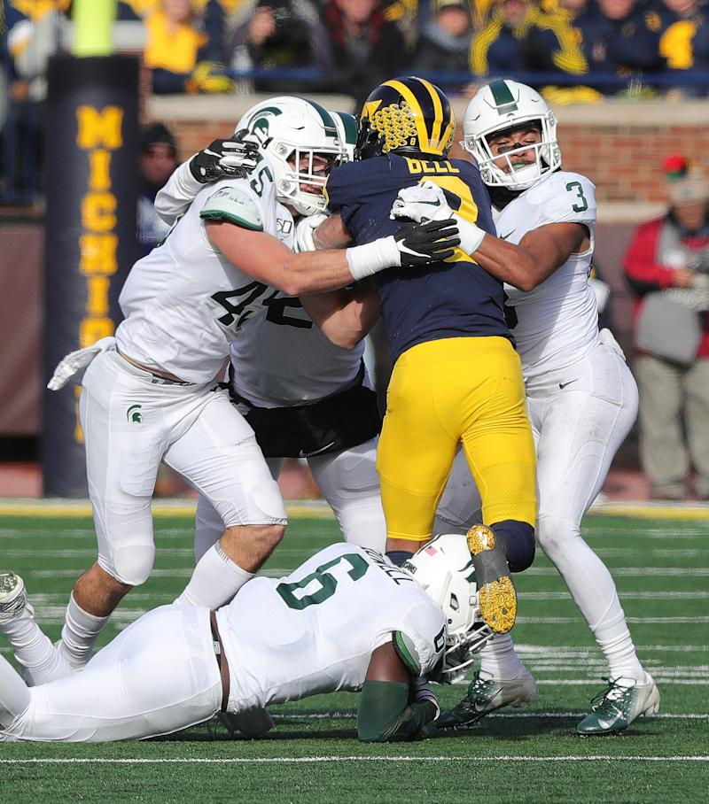 Michigan vs. Michigan State football game score: Live updates