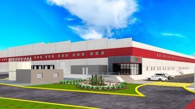 """The design for WBTL 200,000 SQF new manufacturing facility in Mexico designed by Alianza"""