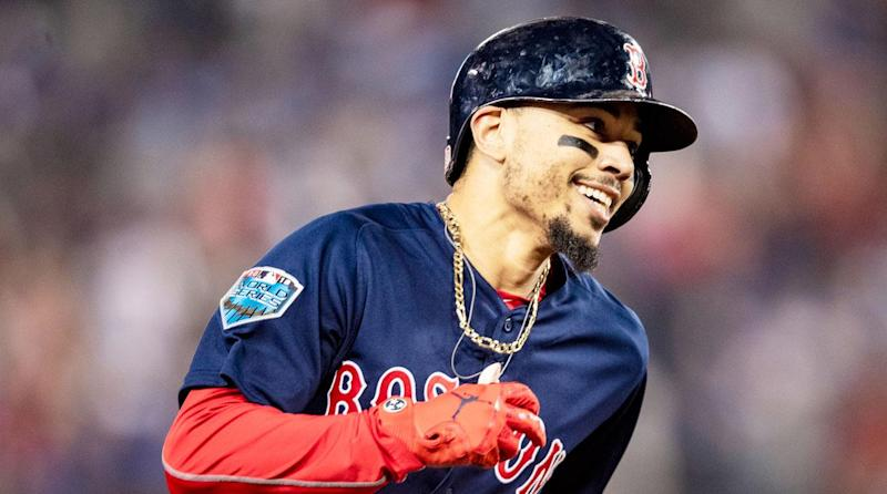 9c705bfbeaf 2018 AL MVP  Red Sox star Mookie Betts tops Mike Trout and Jose Ramirez