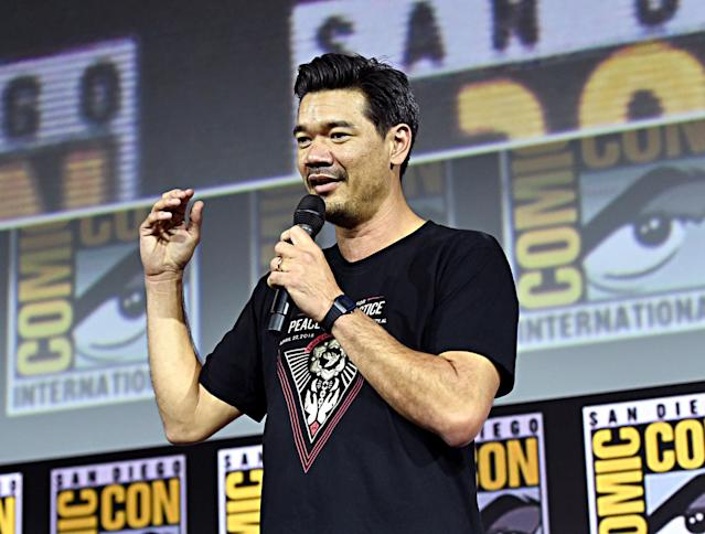 Director Destin Daniel Cretton of Marvel Studios' 'Shang-Chi and the Legend of the Ten Rings' at the San Diego Comic-Con International 2019. (Alberto E. Rodriguez/Getty Images for Disney)
