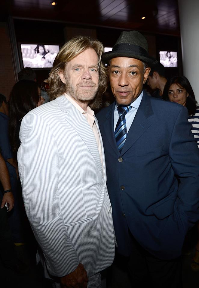 SAN DIEGO, CA - JULY 14:  Actors William H. Macy (L) and Giancarlo Esposito attend Entertainment Weekly's 6th Annual Comic-Con Celebration sponsored by Just Dance 4 held at the Hard Rock Hotel San Diego on July 14, 2012 in San Diego, California.  (Photo by Michael Buckner/Getty Images for Entertainment Weekly)