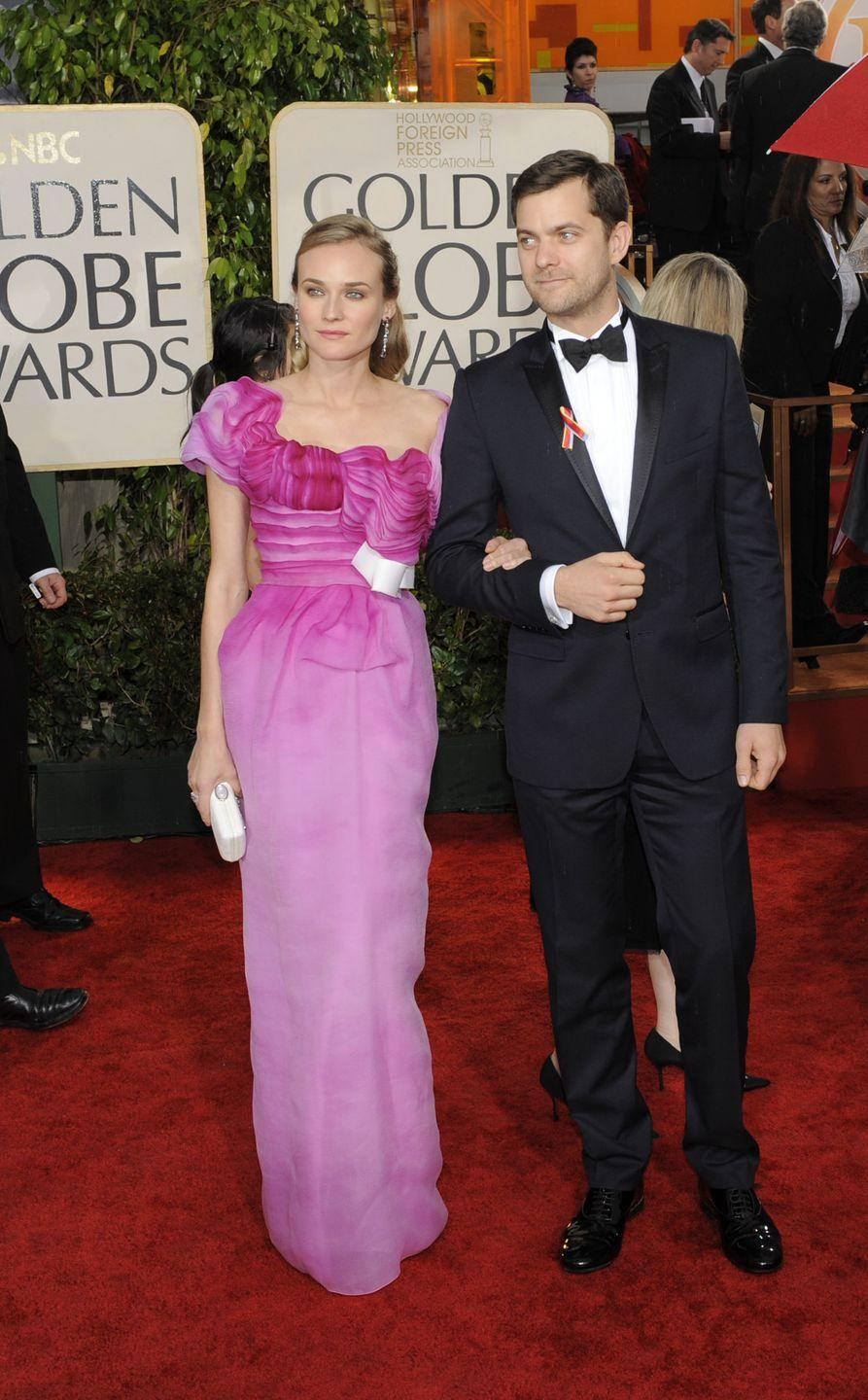 <p>Diane Kruger wore a pink ombre gown by Christian Lacroix in 2010.</p>