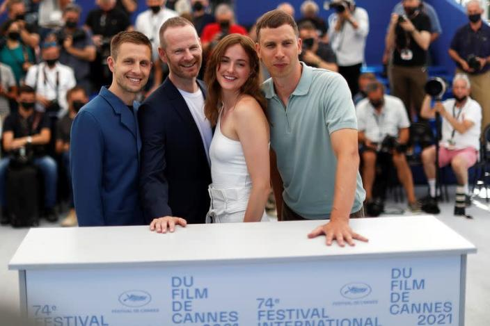 """FILE PHOTO: The 74th Cannes Film Festival - Photocall for the film """"The Worst Person in the World"""" in competition"""