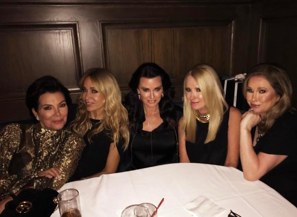 """<p>Also celebrating a birthday week? Kathy Hilton, who turned 58 on March 13. """"Girls night to celebrate my birthday!"""" she captioned a shot snapped at her bash held at Craig's in West Hollywood. """"Fun fun."""" (Photo: <a rel=""""nofollow"""" href=""""https://www.instagram.com/p/BRuMcsuDQ2G/"""">Instagram</a>) </p>"""