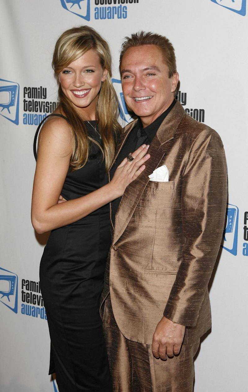 The actor is pictured here with his daughter Katie Cassidy. Source: Getty