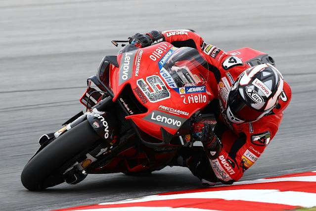 Ducati 'struggling' to match rivals' pace