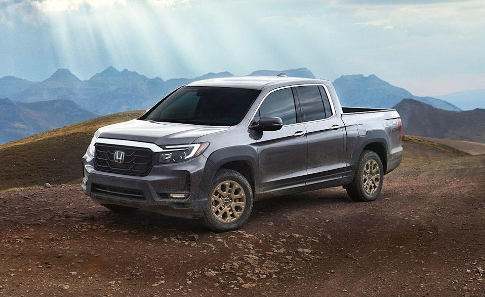 "<p>The <a href=""https://www.caranddriver.com/honda/ridgeline"" rel=""nofollow noopener"" target=""_blank"" data-ylk=""slk:Honda Ridgeline"" class=""link rapid-noclick-resp"">Honda Ridgeline</a> is designed for folks buying mid-size trucks for everyday use, rather than for the extreme. Its unibody chassis is shared with the Odyssey minivan, Passport SUV, and three-row Pilot. Why is that a good thing? It redefines what it feels like to drive a truck, which is an overwhelmingly good characteristic. Where some body-on-frame trucks bounce and wiggle, the Ridgeline offers a smooth ride with easy to control handling. Body-on-frame construction is rugged, and unnecessarily so, for most pickup owners. However, an obvious drawback to this design is its limited off-road potential. It's 5000-pound maximum towing capacity, only for all-wheel-drive models, is the lowest in the segment by 1710 pounds behind the Nissan Frontier. A 280-hp V-6 with a nine-speed automatic transmission is the only powertrain. The Ridgeline also offers the most rear cargo space in this segment. An extra weatherproof in-bed cargo area also works to store items you'd rather not put inside the cabin or hear roll around in the bed. The Ridgeline has been a C/D <a href=""https://www.caranddriver.com/features/a25603385/10best-trucks-suvs-2019/"" rel=""nofollow noopener"" target=""_blank"" data-ylk=""slk:10Best Trucks winner three years in a row"" class=""link rapid-noclick-resp"">10Best Trucks winner three years in a row</a>. <a class=""link rapid-noclick-resp"" href=""https://www.caranddriver.com/honda/ridgeline/specs"" rel=""nofollow noopener"" target=""_blank"" data-ylk=""slk:MORE HONDA RIDGELINE SPECS"">MORE HONDA RIDGELINE SPECS</a></p><ul><li>Base price: $37,665</li><li>Powertrain: 280-hp 3.5L V-6, nine-speed automatic transmission</li><li>Max Towing: 5000 lb</li></ul>"