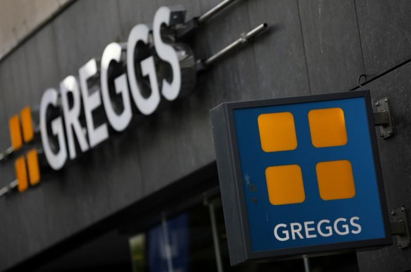 Britain's Greggs to roll out home delivery with Just Eat