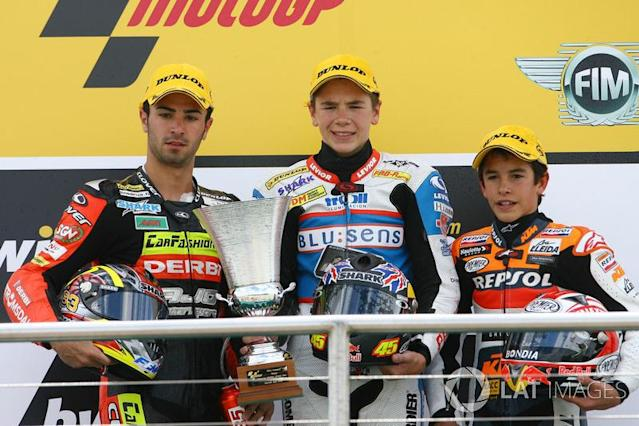 "2. Scott Redding (15 ans et 170 jours) <span class=""copyright"">Gold and Goose / Motorsport Images</span>"