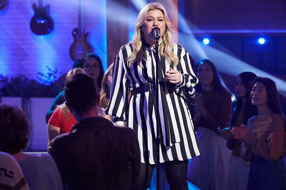 """<p>An original Christmas song by pop princess Kelly Clarkson, this track's moving message and upbeat jingle made it an instant hit. </p><p><a class=""""link rapid-noclick-resp"""" href=""""https://www.amazon.com/Underneath-the-Tree/dp/B00G07ITSW/ref=sr_1_1?crid=3CR1CANHDNN5I&tag=syn-yahoo-20&ascsubtag=%5Bartid%7C10055.g.2680%5Bsrc%7Cyahoo-us"""" rel=""""nofollow noopener"""" target=""""_blank"""" data-ylk=""""slk:AMAZON"""">AMAZON</a> <a class=""""link rapid-noclick-resp"""" href=""""https://go.redirectingat.com?id=74968X1596630&url=https%3A%2F%2Fmusic.apple.com%2Fus%2Falbum%2Fwrapped-in-red%2F720861443&sref=https%3A%2F%2Fwww.goodhousekeeping.com%2Fholidays%2Fchristmas-ideas%2Fg2680%2Fchristmas-songs%2F"""" rel=""""nofollow noopener"""" target=""""_blank"""" data-ylk=""""slk:ITUNES"""">ITUNES</a></p>"""