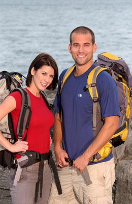 Dating actors Hayden and Aaron CBS' The Amazing Race 6