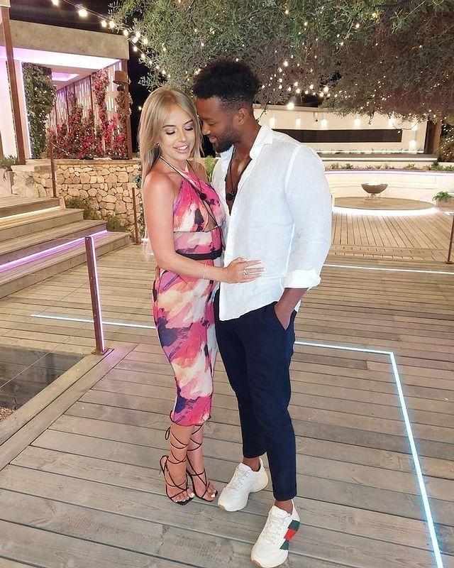 """<p><strong>Relationship status: Still together / Each other's type on paper</strong></p>Despite a tumultuous journey in the Love Island 2021 villa, Faye and Teddy came in third place as girlfriend and boyfriend. <br><p><a href=""""https://www.instagram.com/p/CSsOx6tDYUL/"""" rel=""""nofollow noopener"""" target=""""_blank"""" data-ylk=""""slk:See the original post on Instagram"""" class=""""link rapid-noclick-resp"""">See the original post on Instagram</a></p>"""