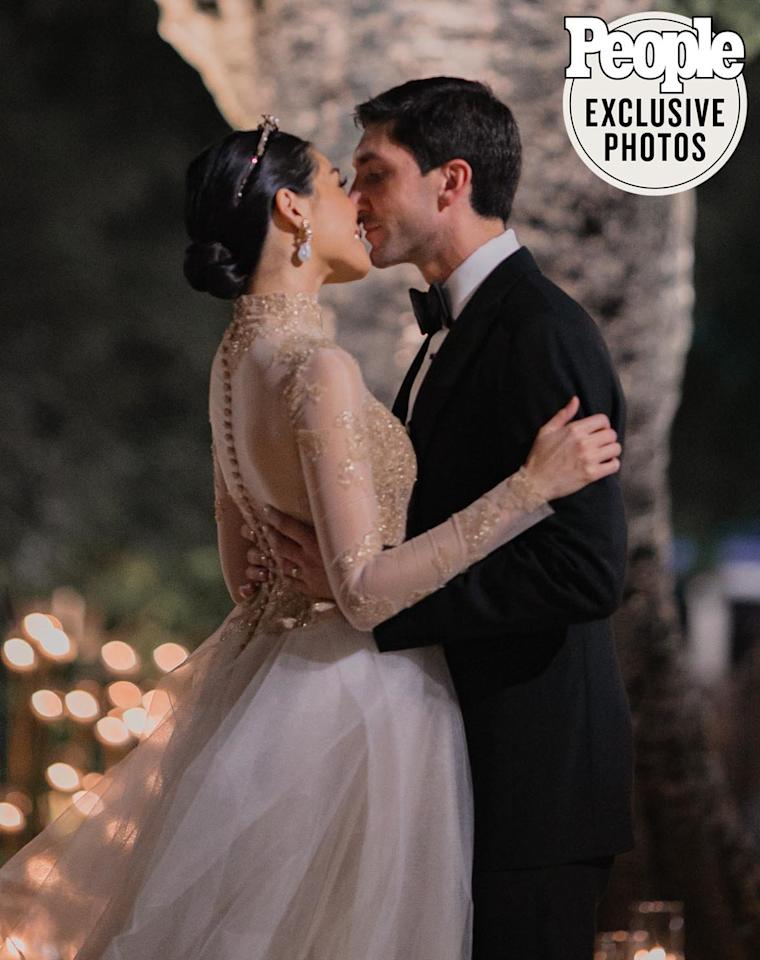 """Lysacek's wedding to Bodiratnangkura, a real estate developer and member of one of Thailand's most notable failies, spanned several days. They married at 12:12 on Dec. 12 in a Buddhist ceremony and then, on Dec. 14, they celebrated with some 300 friends and family in a Western-style reception. Among the guests were various Thai deputy prime ministers, foreign ambassadors, dignitaries and Thai royals.  <strong>RELATED: <a href=""""https://people.com/sports/evan-lysacek-love-story-wife-dang-bodiratnangkura/"""">Olympian Evan Lysacek Remembers How He Met His New Wife and Instantly Fell in Love</a></strong>  """"We didn't just want to welcome our guests to Thailand but give them a unique experience here in Bangkok,"""" says Bodiratnangkura, 41. """"We wanted our guests to be immersed in Thai culture, music and cuisine. Our lives will always be a fusion of Thai and Western culture, which has been a major consideration in the planning of our wedding."""""""