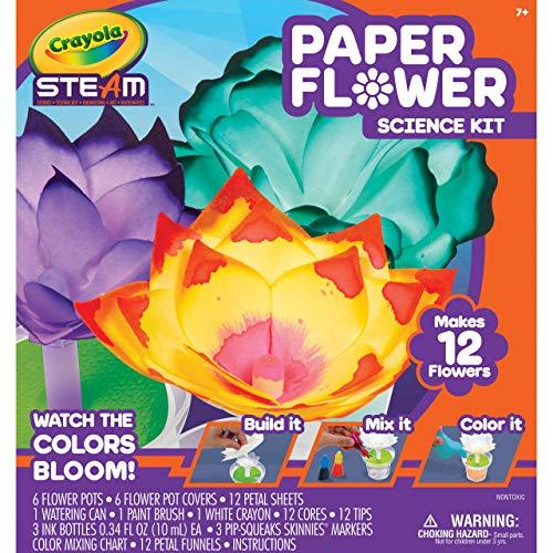 Crayola Paper Flower Science Kit (Amazon / Amazon)