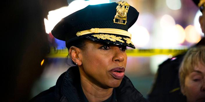 Seattle Police Chief Carmen Best pictured in January 2020.