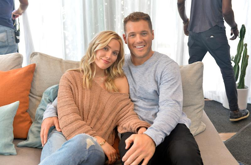 Cassie Randolph and Colton Underwood in October 2019.