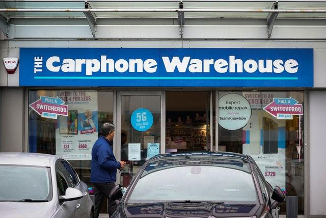 Carphone Warehouse jobs axe